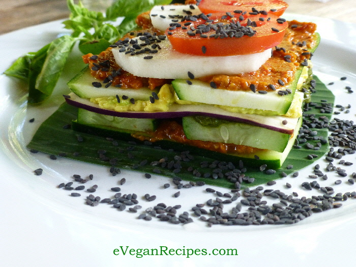Tastefully Raw Vegan Lasagna