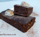 Vegan Chocolate Fudge Brownies