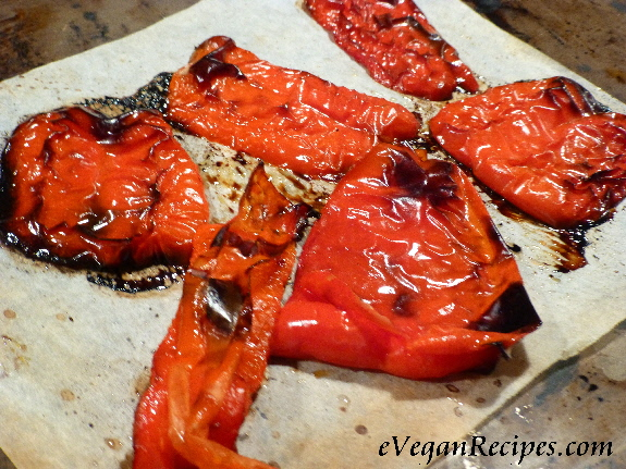 how to char-grill capsicums