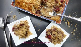 The Humble Crumble Veganized – Apple Berry Crumble and Coconut