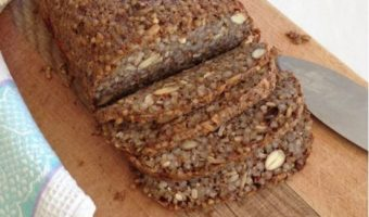The Nutty Buckwheat and Seed Bread Loaf