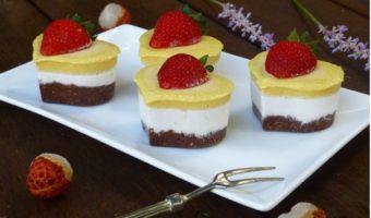 Raw Vegan Lychee Mango Treats