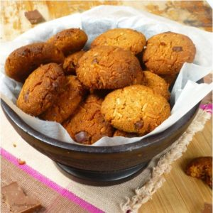 Gluten Free Chocolate Chip Almond Coconut Cookies