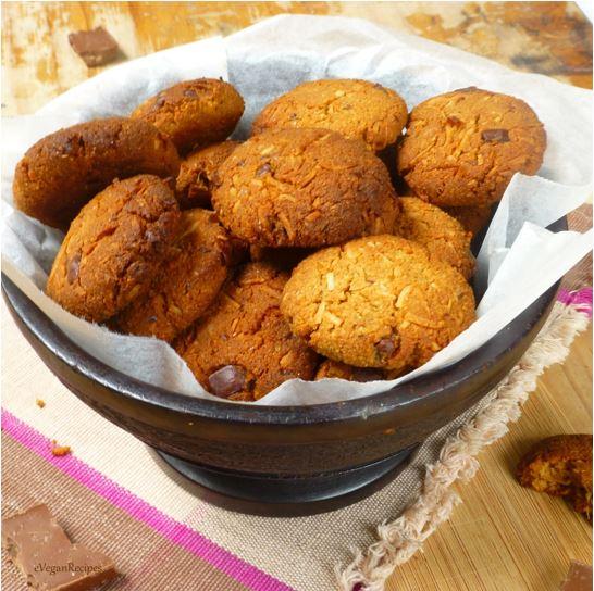 Gluten Free Chocolate Chip Almond Coconut Cookies