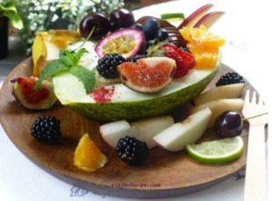 Fruit Platters and Fruit Boat