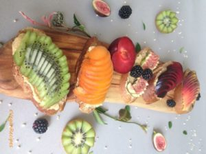 Fruit on Toast