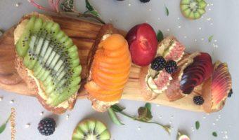 Fruit on Toast