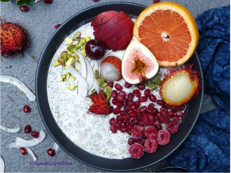Chia Pudding and Smoothie Bowls